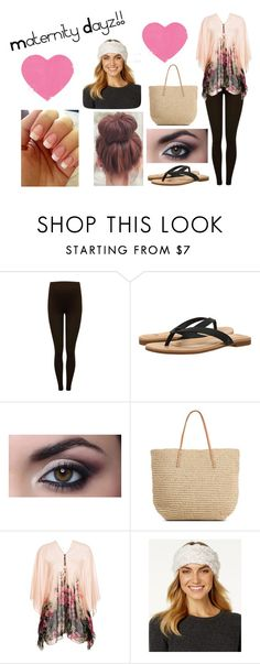 """""""maternity Dayz!!"""" by toribabe1990 ❤ liked on Polyvore featuring M&Co, UGG, Target, Betsey Johnson and maternity"""