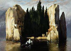 Arnold Böcklin: Die Toteninsel