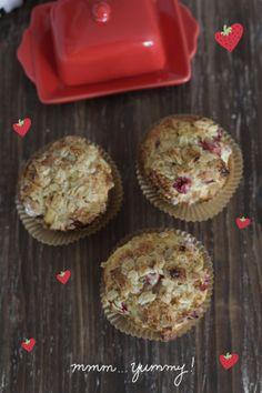 recipe for scrumptious strawberry muffins