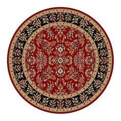 Safavieh Lyndhurst Traditional Oriental Red/ Black Rug (5' 3 Round)