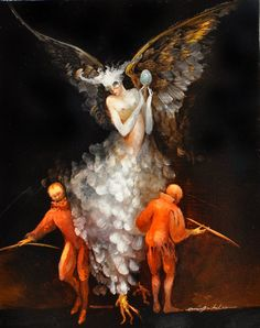 Painting by Anne Bachelier