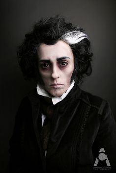 31 Days Of Halloween Oct. 10 Sweeney Todd by Amanda Chapman https://www.facebook.com/amandachapmanphotography