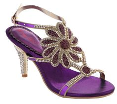 Salabobo Womens Sexy Comfort Nice New Fashion Wedding Party Job Rhinestone Leather Mid Heel Sandals ** You can get additional details at the image link.