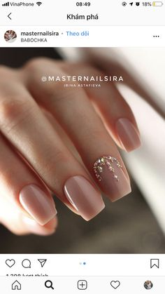 Amazing Nail Polish Color Trends You'll Want To Ha Elegant Nails, Stylish Nails, Trendy Nails, Classy Nails, Cute Nails, Shellac Nails, Pink Nails, Manicure, Acrylic Nails Pastel