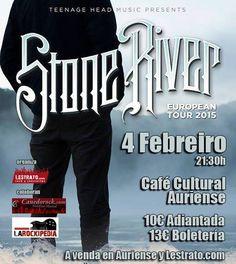 Stone river en Café Cultural Auriense, Ourense music musica concerto concierto