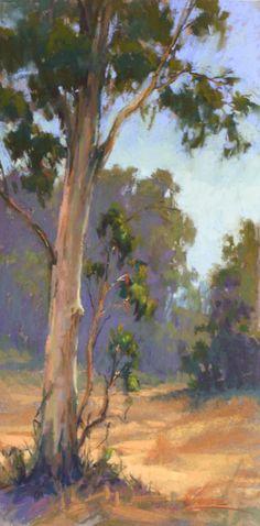 Kim Lordier (Eucalyptus Mornings) #tree #art