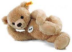 Steiff-Jointed-Hannes-Teddy-Bear-Beige-Childrens-Soft-Toy-Present