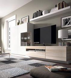 Furniture For Sale Black Friday Living Room Tv Wall, Living Room Tv, Living Room Tv Unit Designs, House Styles, Small Living Room Decor, Living Room Designs, Kave Home, Room Design, Home Deco