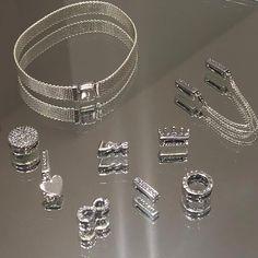 >>>Pandora Jewelry OFF! Pandora Jewelry Box, Pandora Necklace, New Pandora, Pandora Bracelet Charms, Charm Jewelry, Charm Bracelets, Silver Bracelets, Silver Rings, Trendy Jewelry