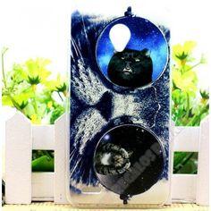 Personaliza tu móvil con esta carcasa diseño gato Vodafone Smart Prime 6
