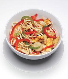 Tofu Stir Fry from Epicurious.com #myplate #veggies