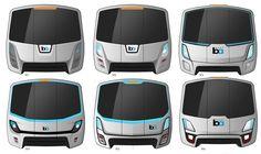 Front End Concepts by Morelli Designers. Transportation Technology, Transportation Design, Mode Of Transport, Public Transport, Bus Art, Bus House, Truck Design, Commercial Vehicle, Automobile