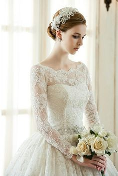 Wedding Dresses Lace Fit And Flare 49 trendy dress wedding simple romantic.Wedding Dresses Lace Fit And Flare 49 trendy dress wedding simple romantic Princess Wedding Dresses, Modest Wedding Dresses, Wedding Bridesmaid Dresses, Bridal Dresses, Dress Wedding, Ball Dresses, Ball Gowns, Vintage Dresses, Lace Dress