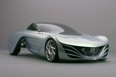 Mazda Taiki - New Concept Car New Sports Cars, Exotic Sports Cars, Sport Cars, Mobiles, Ferdinand Porsche, Weird Cars, Futuristic Cars, Future Car, Amazing Cars