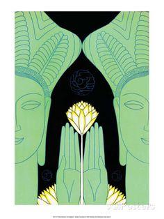 Lotus Goddess Hands by Frank McIntosh
