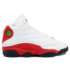 official photos a8877 d08c1 Free shipping Air Jordan 13 Original OG White and Black and True Red Jordan  Shoes For