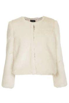 Lux Fur Shrug - Faux Fur & Shearling - Jackets & Coats  - Clothing