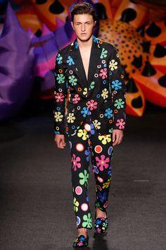 Moschino Spring 2017 Menswear Fashion Show - Anwar Hadid