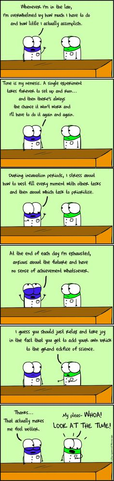 Ha! Exactly why I quit research