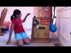Rube Goldberg Popping a balloon - YouTube