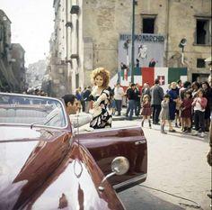 Marcello Mastroianni & Sophia Loren ( Matrimonio all'italiana, 1964).