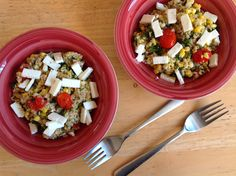 Corn and Tomato Tabbouleh
