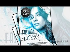 In this Advance Photoshop Tutorial we will learn to create cool Fashion Week Flyer Design step by step using different Photoshop Brushes. Buy This Design at . Photo Manipulation Tutorial, Photoshop Brushes, Adobe Photoshop, Music Party, Party Poster, Photo Retouching, Advertising Poster, Photoshop Tutorial, Flyer Design