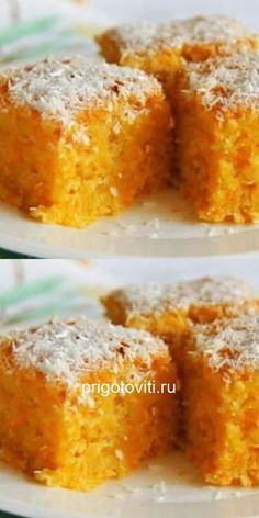 Тыквенный манник — пальчики оближешь! Dog Recipes, Cake Recipes, Cooking Recipes, Pumpkin Carrot Cake Recipe, Dessert Recipes With Pictures, Cooking Forever, Cafe Food, Russian Recipes, Food Cravings