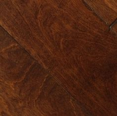 "Picture of Johnson Pacific Coast Birch Salem- 6-1/2"" dark hardwood, wide plank, handscraped"
