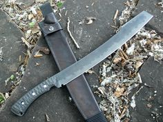 Thurks gorgonblade, a tempered, heated blade machete.