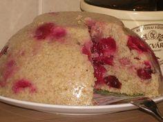 Gyümölcsös köles puding recept