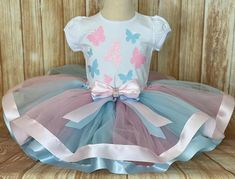 Butterfly Tutu Outfit, Butterfly Birthday Outfit | Little Ladybug Tutus Tutus For Girls, Girls Dresses, Tutu Dresses, Party Dresses, 1st Birthday Tutu, Butterfly Birthday Party, Ladybug Tutu, Tutu Outfits, Pageant
