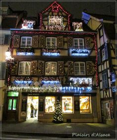 Plaisirs d'Alsace: Noël en Alsace - Colmar /2