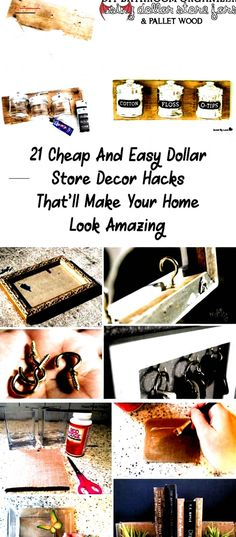 21 Dollar Store DIY Home Decor Ideas  Are you looking for cheap and affordable d #easy #home #decor #canvases #easy #home #decor #with #paper # # diy bathroom decor<br> Home Decor Hacks, Diy Home Decor, Decor Ideas, Craft Ideas, Decorating Tips, Decorating Your Home, Diy Candle Labels, Classic Home Furniture, Diy Bathroom Decor