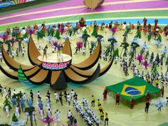Cerimônia de abertura com as cantoras Claudia Leite e Jennifer Lopez #cariocadna #worldcup2014 #copa2014 #Brasil2014 #soccer #futebol #vaitercopa