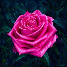 Valentine's Rose by Vincent Keeling - The Keeling Gallery