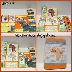 LAPICERO MÁGICO: Taller de libros. Lapbook English Projects, Animal Projects, Crafts For Kids To Make, Class Projects, Interactive Notebooks, Preschool Activities, Social Studies, Geography, Homeschool