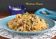 Mushroom Biryani, today i'm gonna share an quick and easy to make mushroom biryani. Within 25 mins, you can make this biryani,so it's ideal...