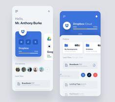 Storages Management - App by Vlad Ermakov for Widelab App Widget, Ios App, Flat Web Design, App Ui Design, Design Design, Interface Web, Interface Design, Apps, Web Design Mobile