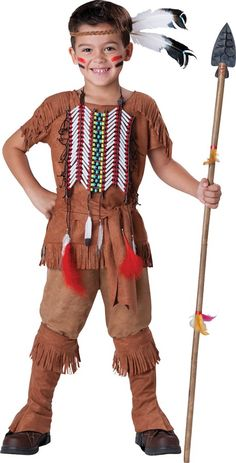 Indian Brave Child Costume