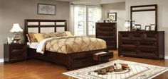 Orlaith 5 PC Bedroom Set by Furniture of America