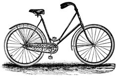 Vintage Bicycle ~ Free Clip Art