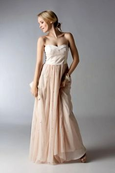 Two Piece Bridesmaid Dresses When is a dress not really a dress? When it is two separates that form the look of one dress. Two piece styles are often more flattering than a one piece dress, and the… Two Piece Bridesmaid Dresses, Bridesmaid Ideas, Wedding Dresses, One Piece Dress, Two Pieces, Wedding Inspiration, Style, Fashion, Bride Dresses