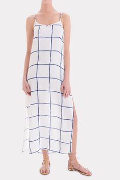 RAILS Alison Dress - Water Color Grid | Available at Keaton Row