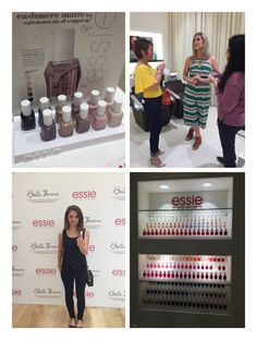 Rita Remark, Essie global lead educator and the artist behind the amazing nail art designs during NY and Paris Fashion Week launching the Cashmere collection today in Dubai #essiemiddleeaset #loreal #newcolors #beautybloggers #bellefemmesalon