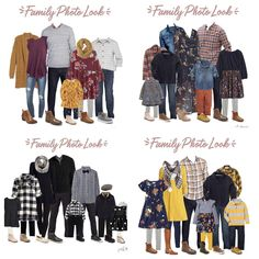 Fall Family Picture Outfits, Winter Family Pictures, Fall Family Photo Outfits, Family Photo Colors, Family Portrait Outfits, Family Photos What To Wear, Family Pics, Girl Photo Shoots, Fall Photos