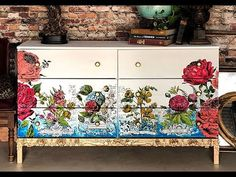 About IOD Paintable Decor Transfers by Iron Orchid Designs Ikea Tarva Dresser, Ikea Drawers, Iron Orchid Designs, Song Of Style, White Chalk, Mineral Paint, Saturated Color, Furniture Projects, Recycling Furniture