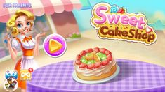 Sweet Cake Shop Kids Cooking & Bakery - Android gameplay | Games for Kids