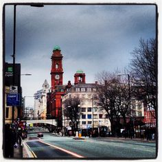 Manchester City Centre - Wilmslow Road