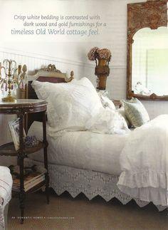 Romantic Vintage Cottage Bedroom ! Full Bloom Cottage